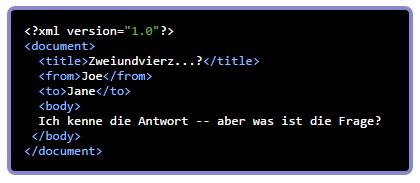 xml formatiert ausgeben mit asdw_echo_xml