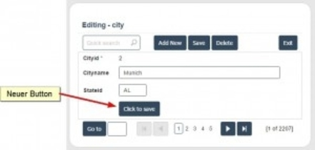 Add a new save button anywhere within a Scriptcase form